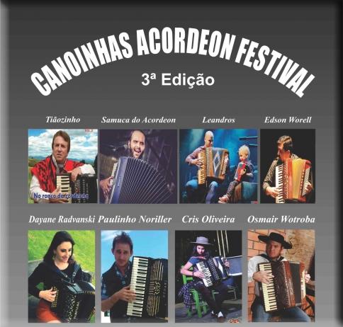 3º Canoinhas Acordeon Festival
