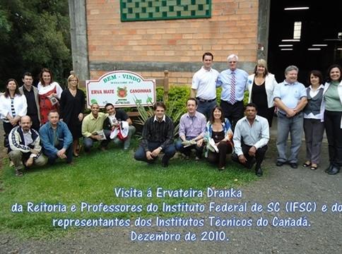 Visitante Erva Mate Canoinhas 2010