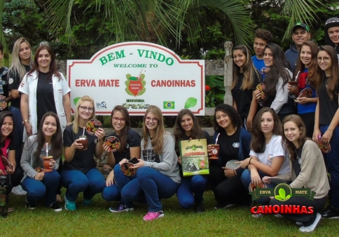 Visita alunos do Colégio Estadual Santa Cruz CESC