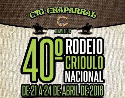 40º Rodeio CTG Chaparral Joinville