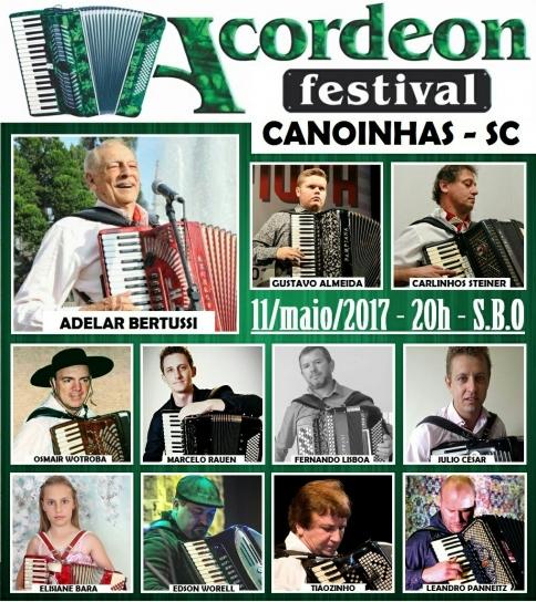 4º Acordeon Festival Canoinhas