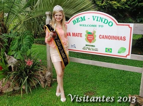 Visitante Erva Mate Canoinhas 2013