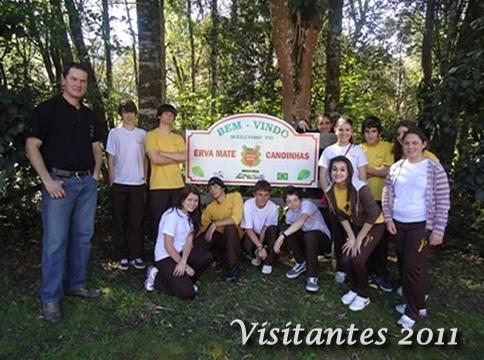 Visitante Erva Mate Canoinhas 2011