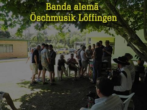 Banda alemã Öschmusik Löffingen na Ervateira Dranka