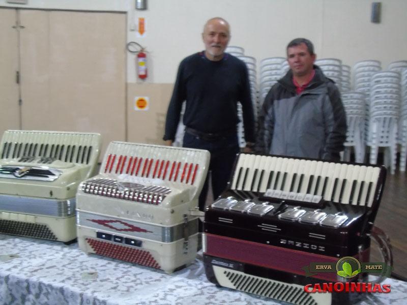 Exposição de acordeons do Sr.Mario Selbmann  www.selbmar.com.br