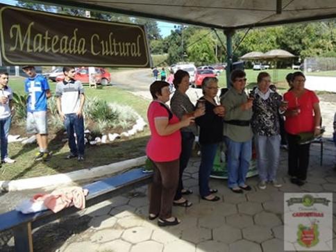 Moradores de Marcílio Dias prestigiam Mateada Cultural